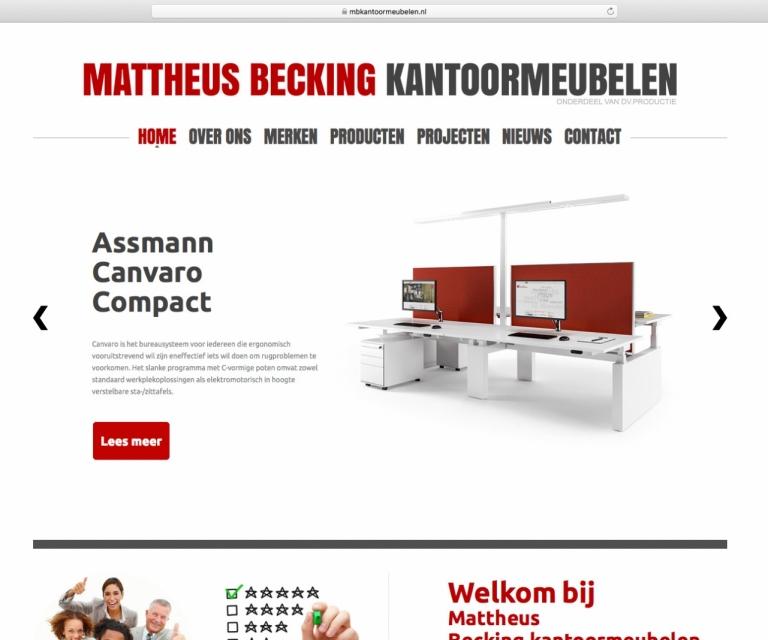 Mattheus Becking kantoormeubelen