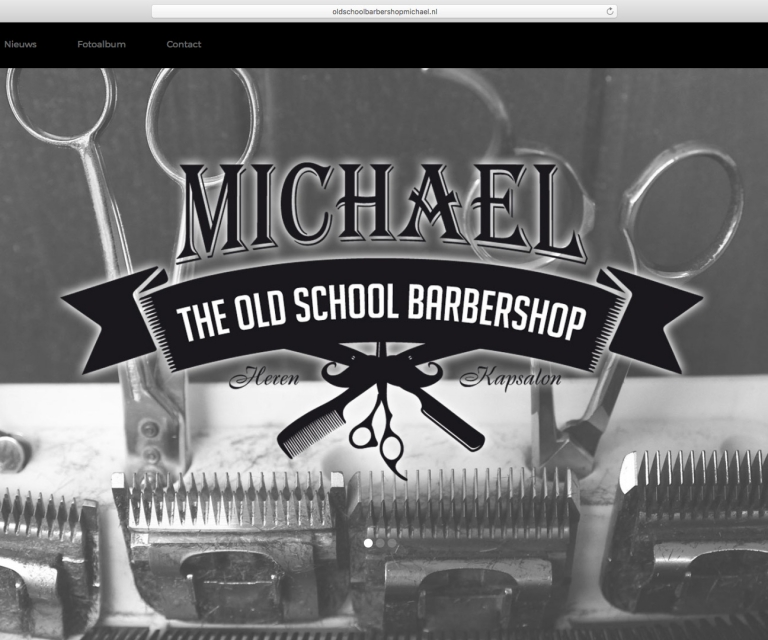 Old school barbershop Michael
